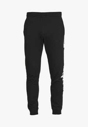 BIG LOGO CUFF PANTS - Verryttelyhousut - black