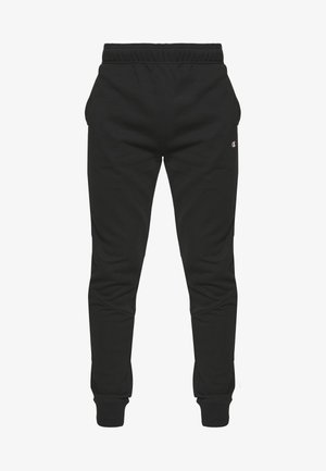 TAPE PANTS - Tracksuit bottoms - black