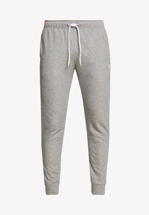 CUFF PANTS - Spodnie treningowe - grey melange