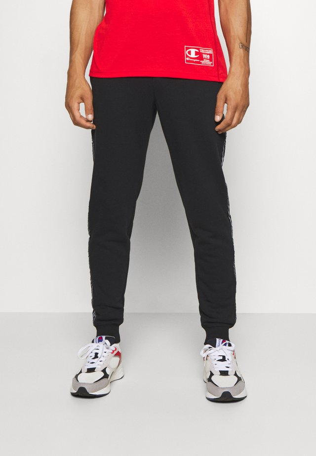 LEGACY TAPE CUFFED PANTS - Tracksuit bottoms - black