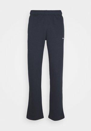 LEGACY STRAIGHT HEM PANTS - Teplákové kalhoty - dark blue