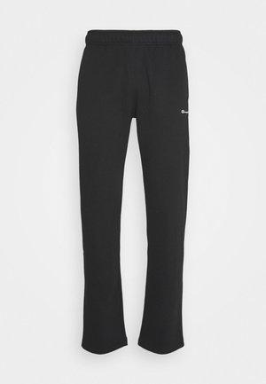 LEGACY STRAIGHT HEM PANTS - Tracksuit bottoms - black