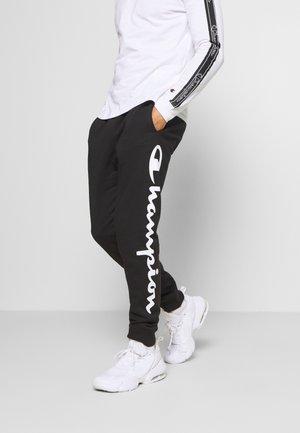LEGACY CUFF PANTS - Verryttelyhousut - black/grey