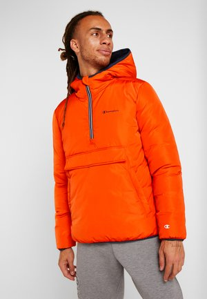 HOODED JACKET ANORAK - Kurtka zimowa - orange