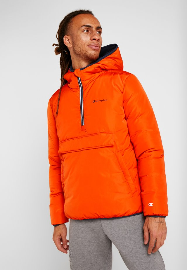 HOODED JACKET ANORAK - Vinterjakke - orange