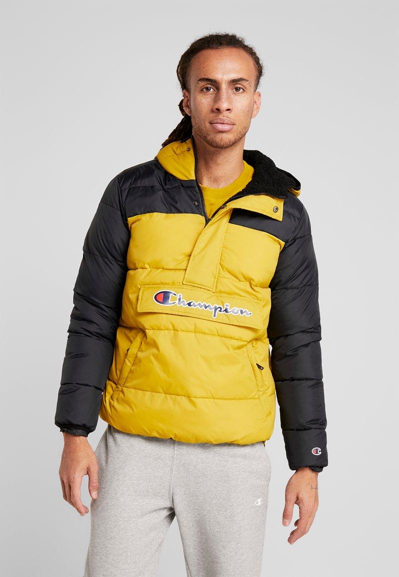 Champion - HALF ZIP JACKET - Winterjas - mustard yellow