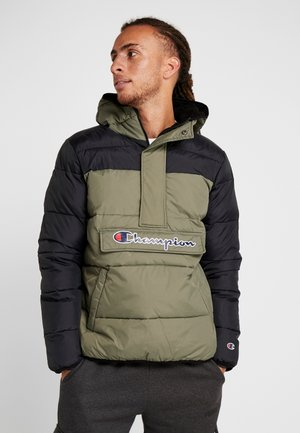 HALF ZIP JACKET - Winterjas - olive