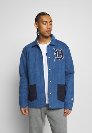 MLB DETROIT TIGERS COACH JACKET - Klubbkläder - denim