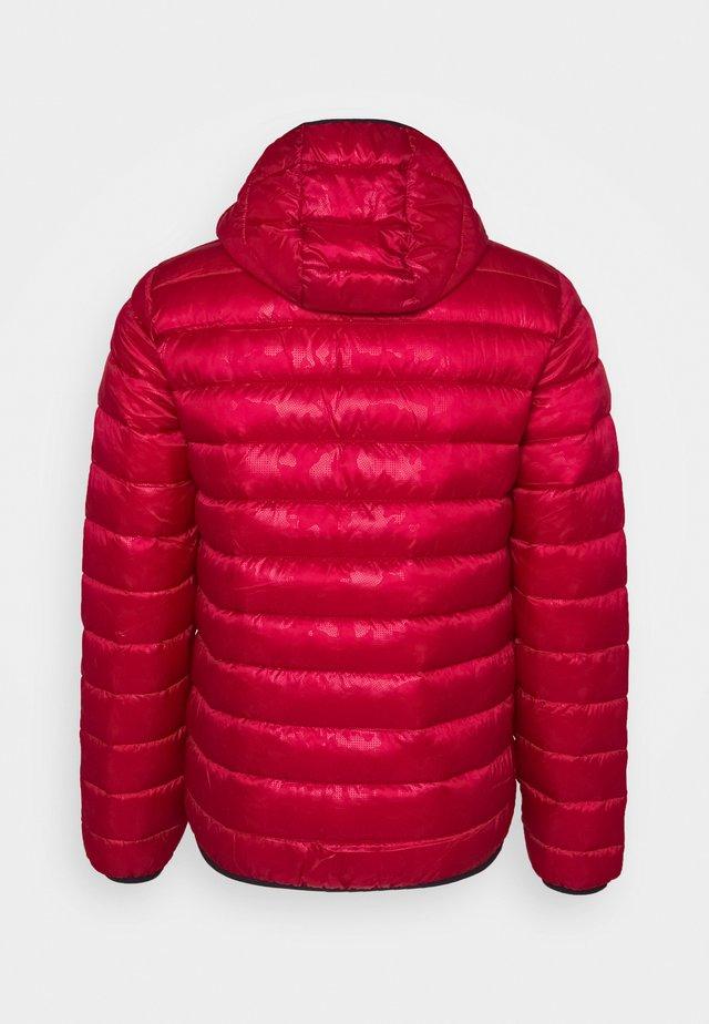 LEGACY HOODED JACKET - Treningsjakke - dark red