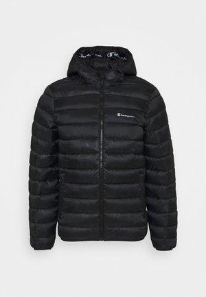LEGACY HOODED JACKET - Sportovní bunda - black