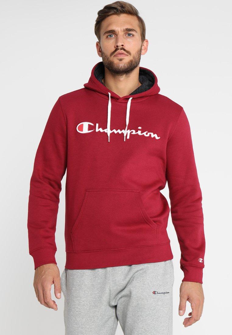 Champion - HOODED - Hoodie - dark red