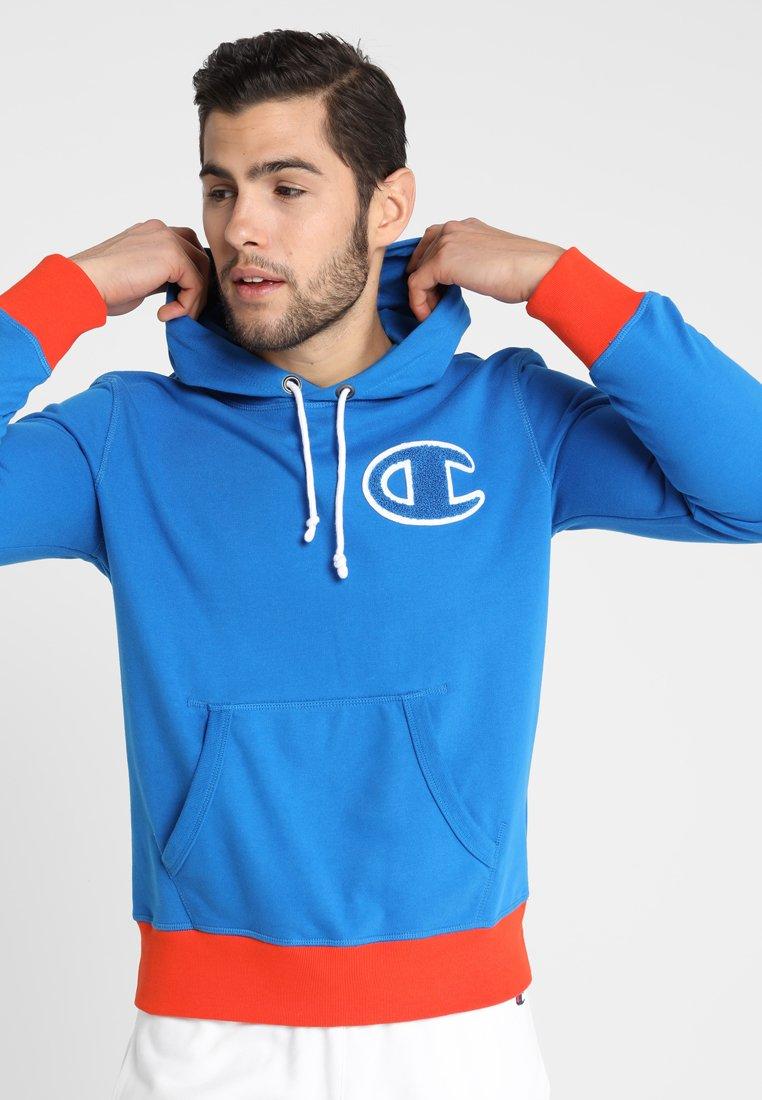 Champion - Jersey con capucha - blue