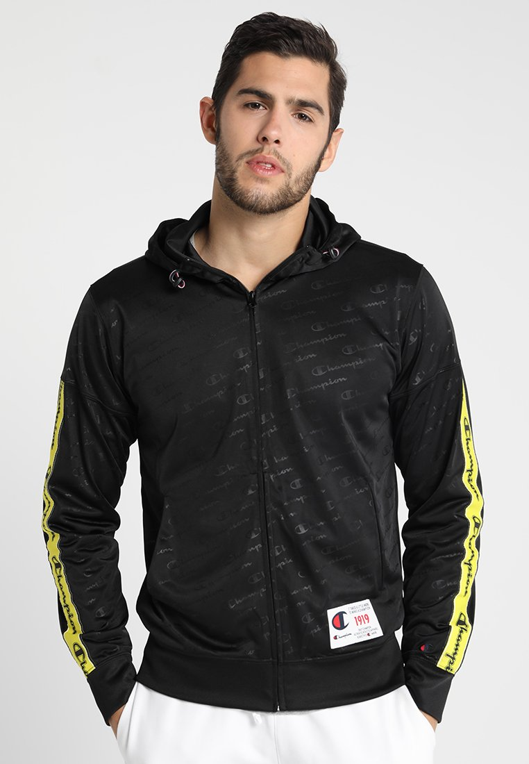 Champion - HOODED - Chaqueta de entrenamiento - black