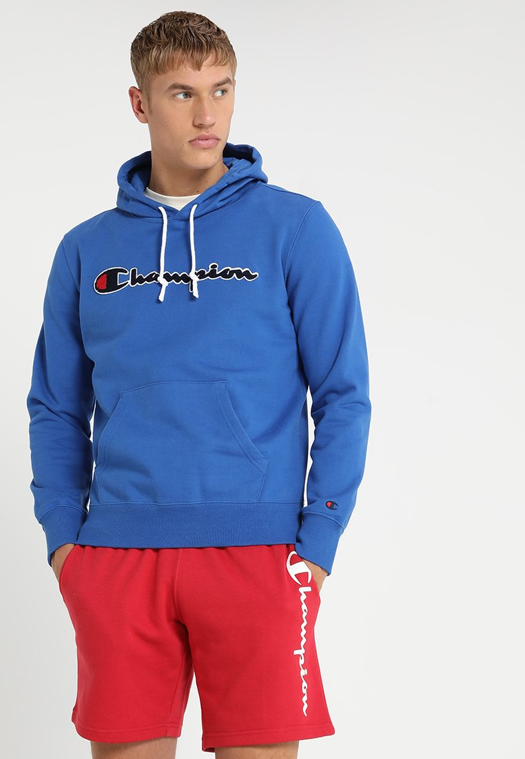 Champion - HOODED  - Kapuzenpullover - blue