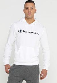 Champion - HOODED  - Hoodie - white - 0