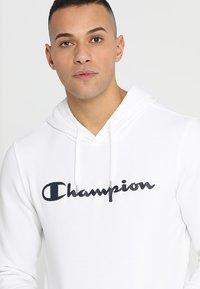 Champion - HOODED  - Hoodie - white - 4