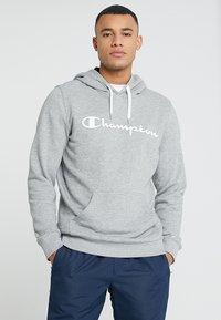 Champion - HOODED  - Kapuzenpullover - oxi grey melange - 0