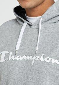Champion - HOODED  - Kapuzenpullover - oxi grey melange - 5