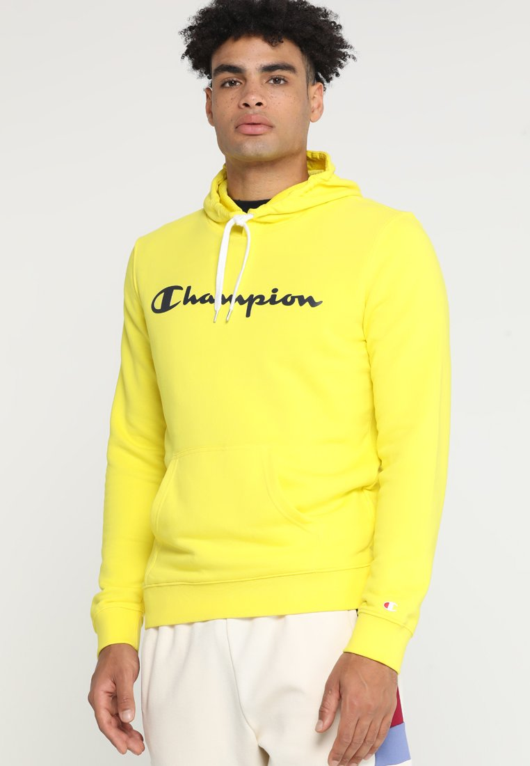 Champion - HOODED  - Jersey con capucha - yellow