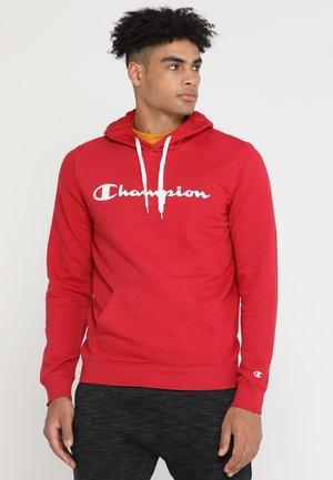 HOODED  - Felpa con cappuccio - red