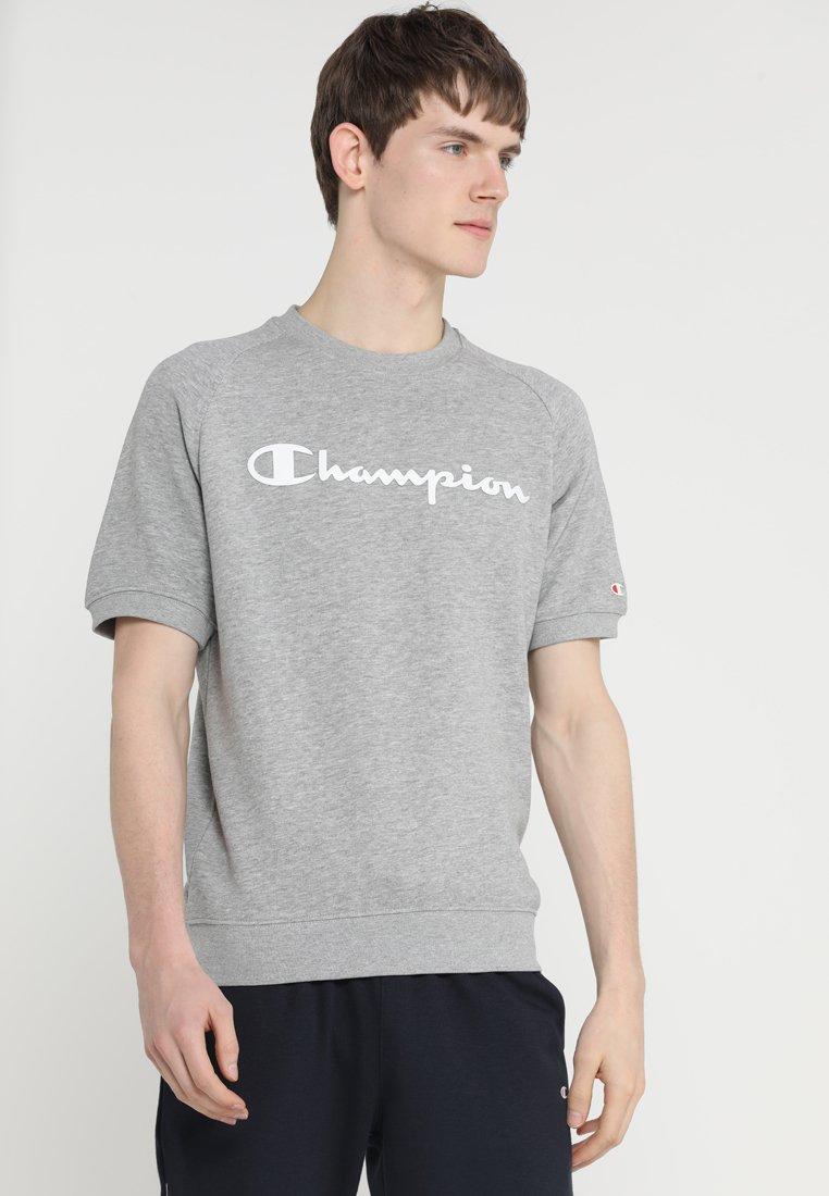Champion - CREWNECK SHORT SLEEVES - T-shirts print - oxi grey melange