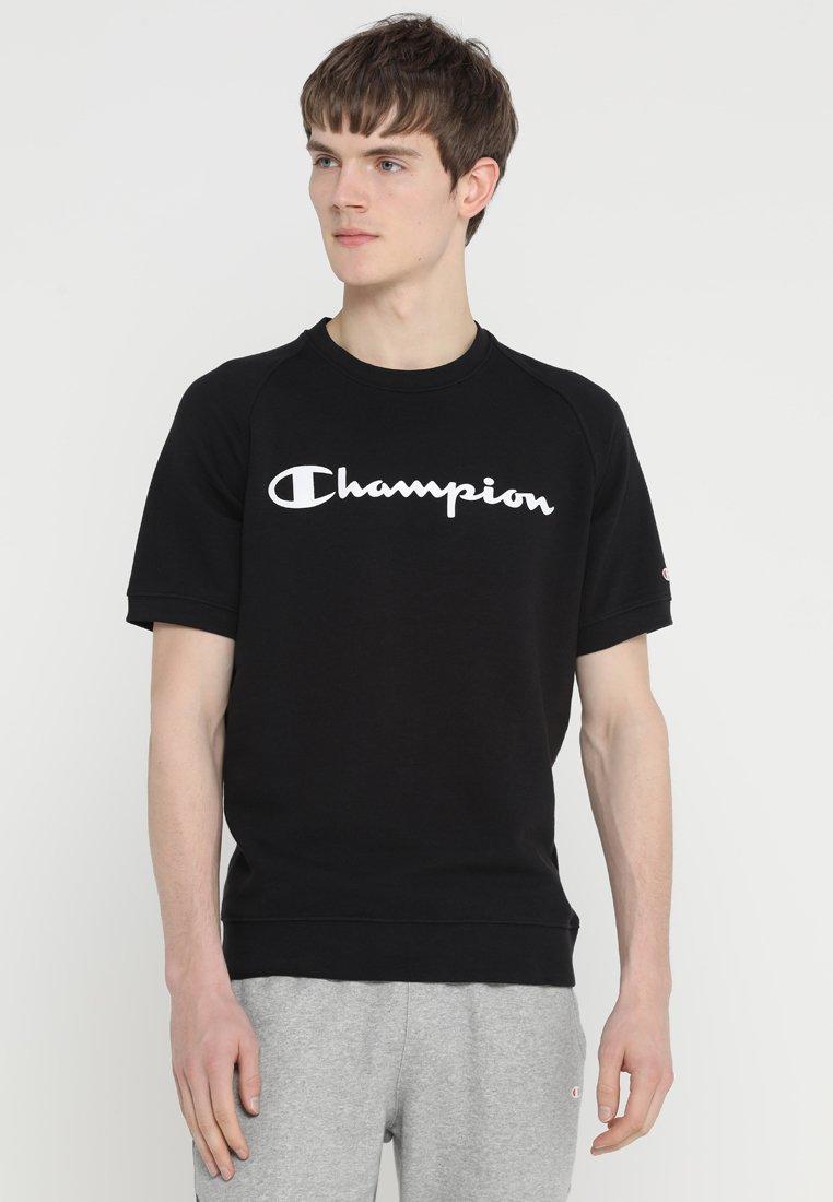 Champion - CREWNECK SHORT SLEEVES - T-shirt con stampa - black