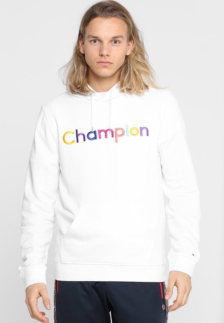 Champion - HOODED - Kapuzenpullover - white