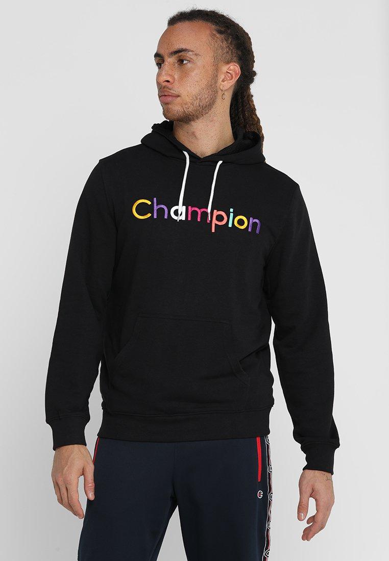 Champion - HOODED - Kapuzenpullover - black