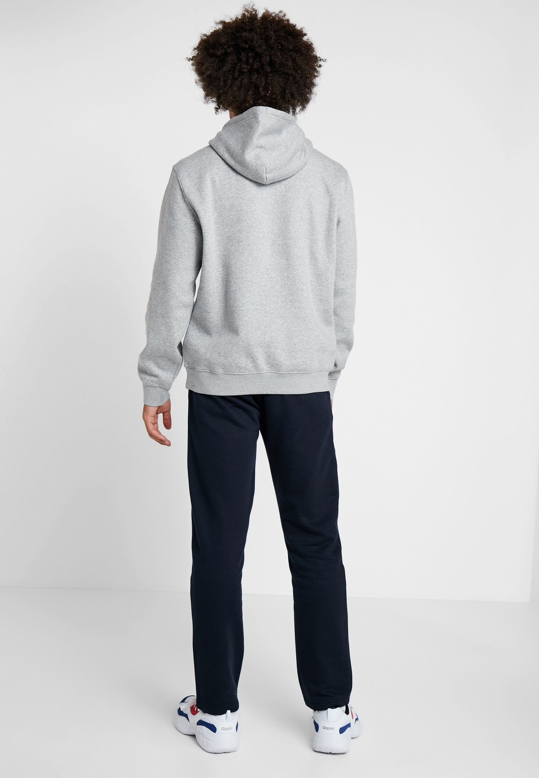 Champion HOODED - Sweat à capuche oxi grey melange/navy