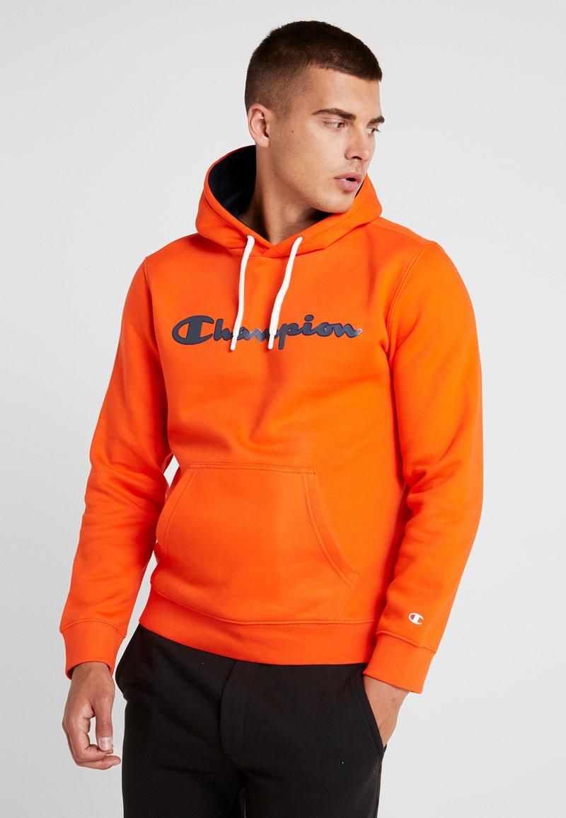 Champion - HOODED - Hoodie - orange