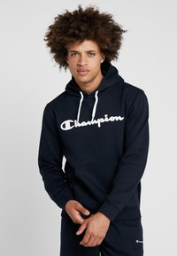 Champion - HOODED - Huppari - dark blue - 0
