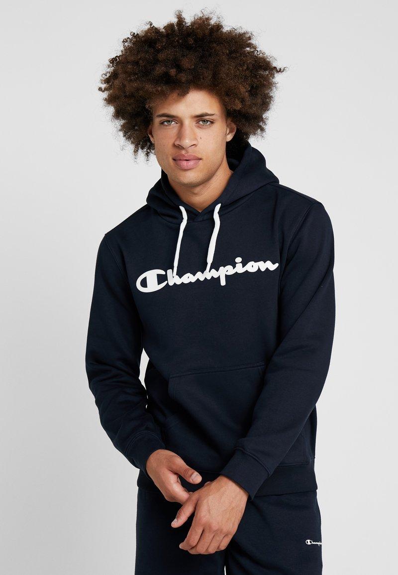 Champion - HOODED - Bluza z kapturem - dark blue
