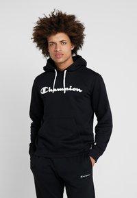 Champion - HOODED - Hoodie - black - 0