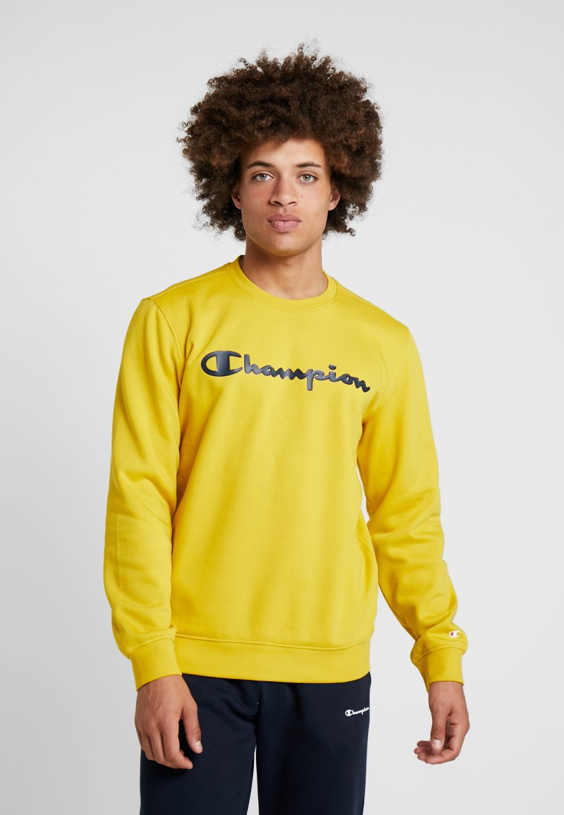 Champion - CREWNECK  - Sweatshirt - mustard yellow