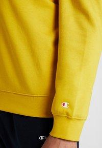 Champion - CREWNECK  - Collegepaita - mustard yellow - 5