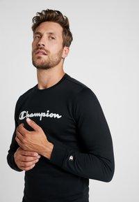 Champion - CREWNECK  - Sweatshirt - black - 3