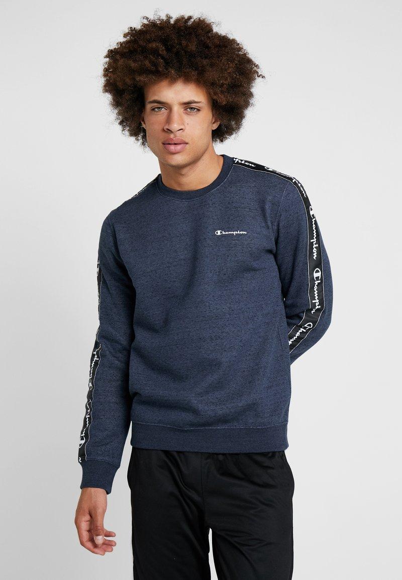 Champion - CREWNECK - Sweater - navy melange