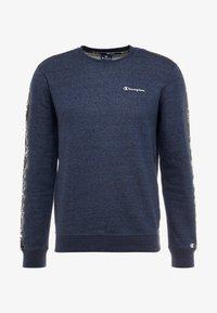 Champion - CREWNECK - Sweater - navy melange - 4