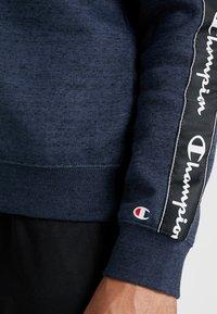 Champion - CREWNECK - Sweater - navy melange - 5