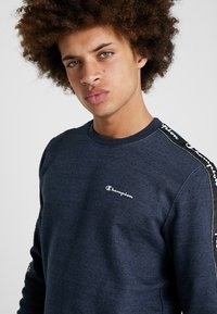 Champion - CREWNECK - Sweater - navy melange - 3