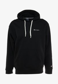 Champion - HOODED - Felpa con cappuccio - black - 4