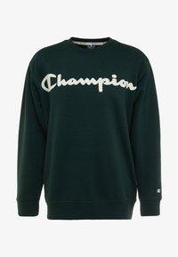 Champion - CREWNECK  - Mikina - dark green - 4