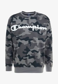 Champion - CREWNECK  - Sweater - olive - 4