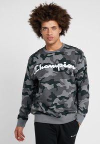 Champion - CREWNECK  - Sweater - olive - 0