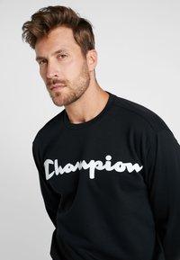 Champion - CREWNECK  - Sweater - black - 3