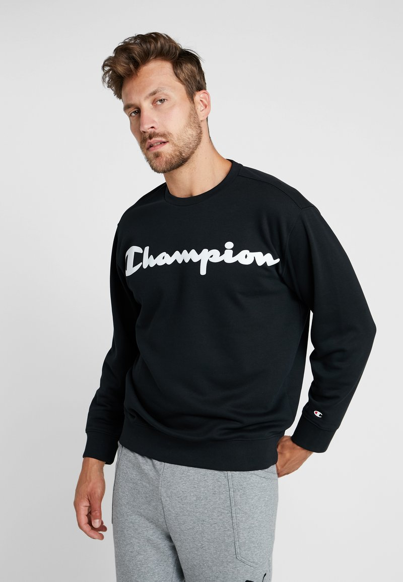 Champion - CREWNECK  - Sweatshirt - black