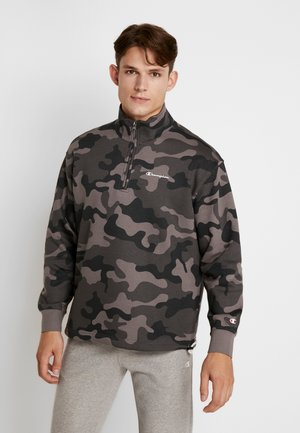 HALF ZIP  - Sweater - olive