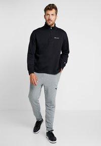 Champion - HALF ZIP  - Sweatshirt - black - 1