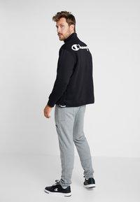 Champion - HALF ZIP  - Sweatshirt - black - 2