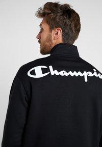 Champion - HALF ZIP  - Sweatshirt - black - 3